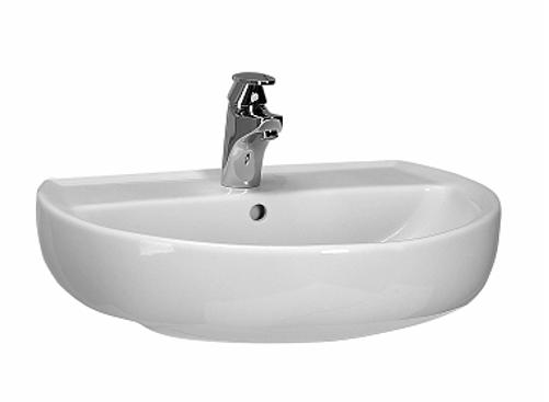 keramag kolo keramik waschbecken weiss 60 cm 212070 waschtisch handwaschbecken ebay. Black Bedroom Furniture Sets. Home Design Ideas