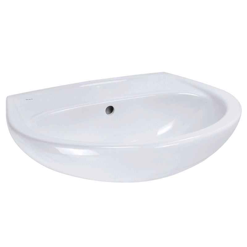 keramag kolo keramik waschbecken weiss 55 cm 486105 waschtisch handwaschbecken ebay. Black Bedroom Furniture Sets. Home Design Ideas