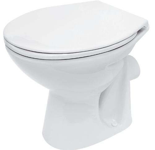 keramik stand wc toilette 602911 ablauf waagerecht tiefsp ler bodenstehend ebay. Black Bedroom Furniture Sets. Home Design Ideas