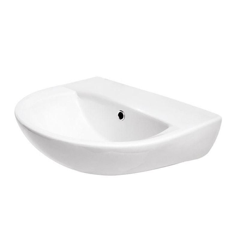 keramik waschbecken weiss 55 cm 603017 waschtisch handwaschbecken gratisversand. Black Bedroom Furniture Sets. Home Design Ideas