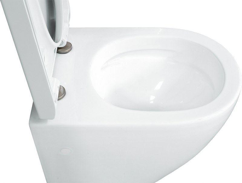 lavita keramik h nge wc toilette 479774 sp lrandlos soft close wandh ngend ebay. Black Bedroom Furniture Sets. Home Design Ideas