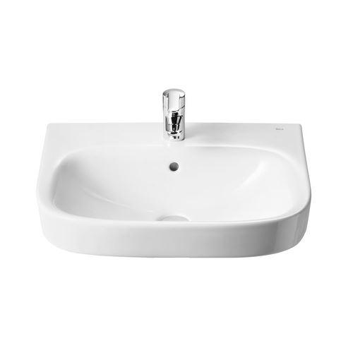 roca keramik waschbecken weiss 60 cm 220444 waschtisch handwaschbecken ebay. Black Bedroom Furniture Sets. Home Design Ideas